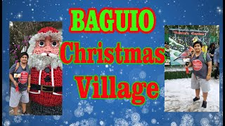 Baguio christmas village 2018 I day time baguio country club christmas village