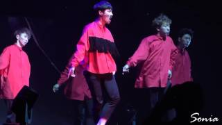 [Sonia] 151007 Zhang Yixing Lay Birthday Fan Meet Intro + I'm Lay (Extended)