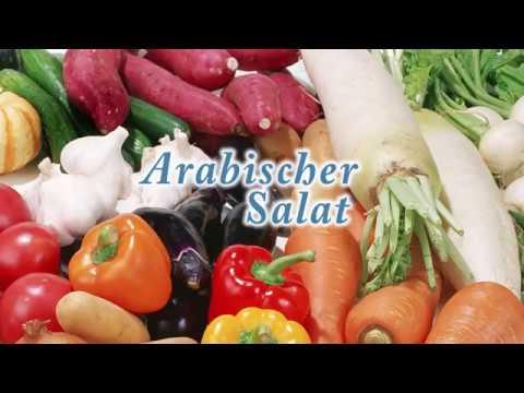 Gesunde Ernährung – Arabischer Salat