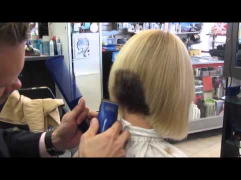 Super Short Womens Clipper bob haircut ✂ Short women's hairstyles ✂ Womens clippered haircut