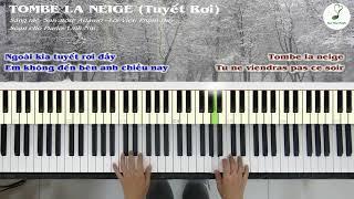 ĐỘC TẤU PIANO | Tuyết Rơi (Tombe La Neige) | Linh Nhi
