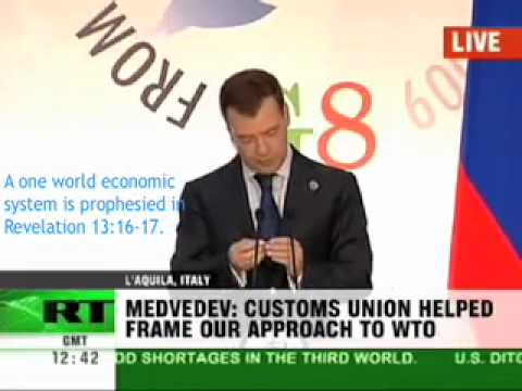 Global Economic Crisis New World Order Currency Announced by Russian President, Dmitry Medvedev