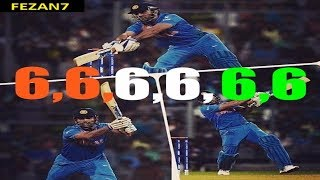 MS Dhoni 6 Sixes in 6 Balls - HD