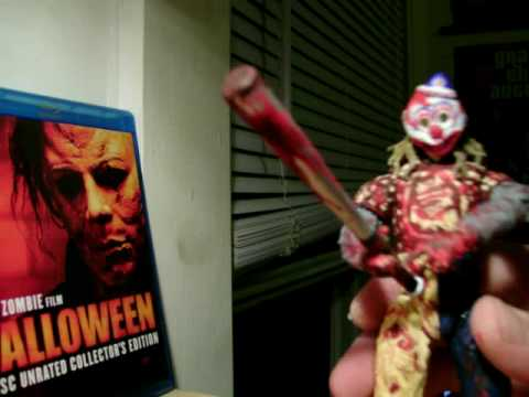 CUSTOM YOUNG MICHAEL MYERS FIGURE FROM RZ HALLOWEEN COMPLETE - YouTube