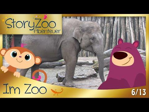 StoryZoo Abenteuer im Zoo • Elefant