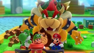 Mario Party 10 - Team Bowser vs. Team Mario - Mushroom Park (2 Player)