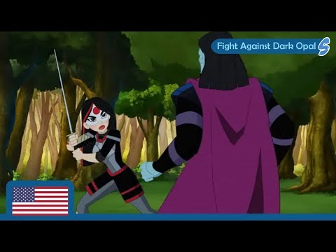 DC Super Hero Girls (Clip) | Fight Against Dark Opal | Hero Of The Year