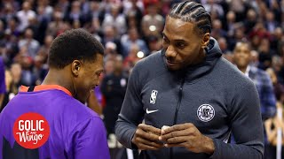 Nobody booed Kawhi in his return to Toronto - Doris Burke | Golic and Wingo