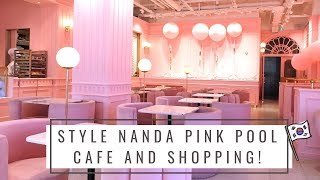 Style Nanda's PINK POOL CAFE in SEOUL!