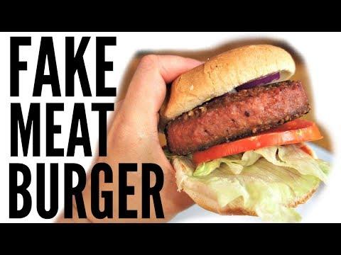 The Beyond Burger TASTE TEST | Vegan burger that looks like medium-rare beef