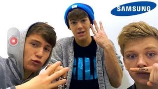 District3 - Samsung Video Diaries - The X Factor UK 2012