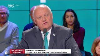 Le Grand Oral de François Asselineau - Les Grandes Gueules de RMC