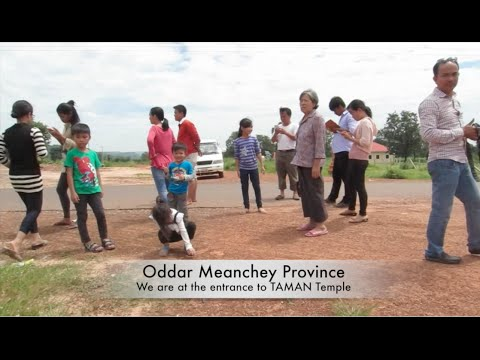 Trip to TAMAN Temple at Oddar Meanchey Province in Cambodia