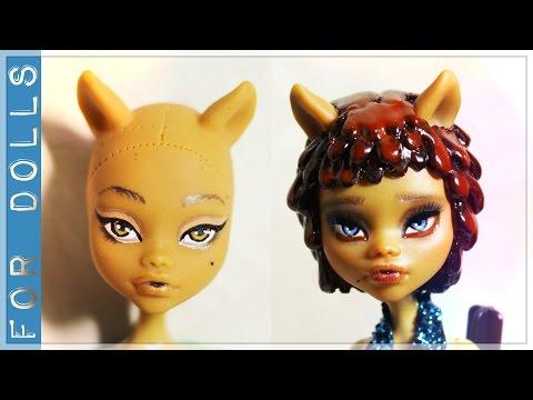 Смотреть как сделать парик для куклы монстер хай
