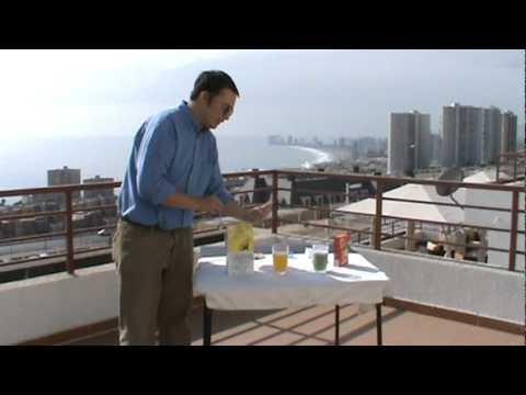 Demostración detergente SA8 Premium de Amway.