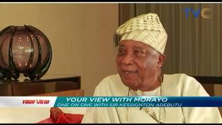 Morayo's Exclusive Chat With Baba Ijebu || Your View, 15th April 2019