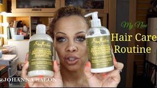 My NEW Hair Care Routine- For Weak Damaged Hair