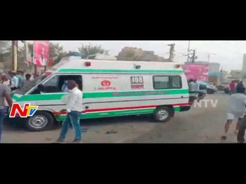 Accident at Kokapet Junction || Car Hits Bike || One Passes Away || Ranga Reddy || NTV