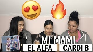 El Alfa Ft Cardi B Mi Mami Audio Oficial Reaction Review