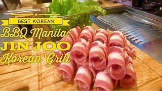Best Korean BBQ Manila: Jin Joo Korean Grill SM Aura Sky Park Bonifacio Global City