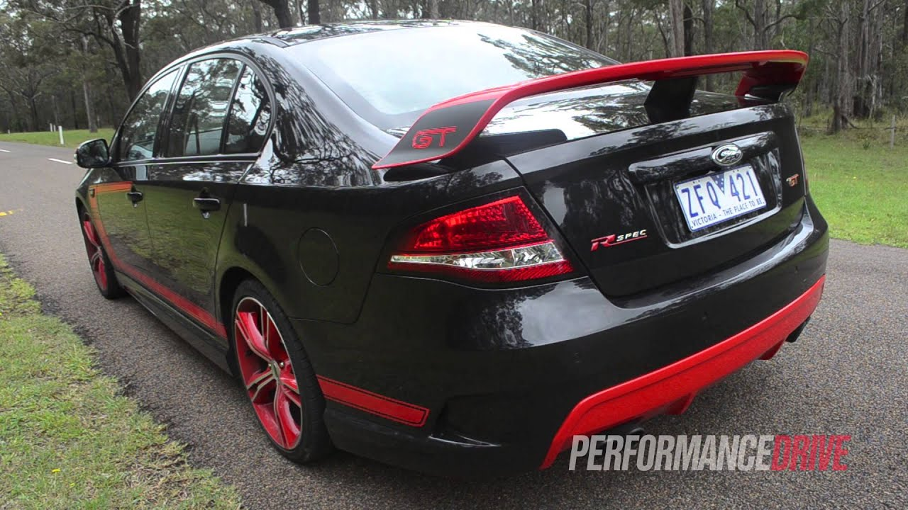 2012 Fpv Gt Rspec Engine Sound And 0 100km H Youtube