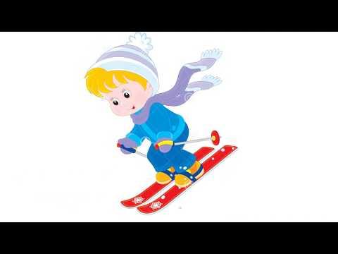 Зимние виды спорта. Семь видов спорта! Видео для малышей.