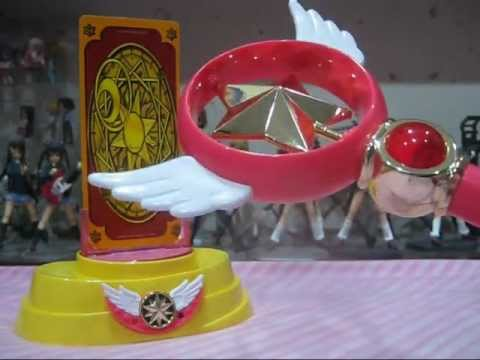 ARR - Bandai's Official Cardcaptor Sakura Star Wand (DX Star Power Set) Role Play Toy Review