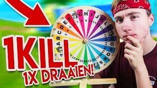 1 KILL = 1X AAN 'T RAD DRAAIEN!