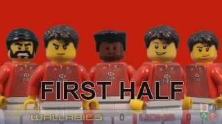 LEGO Rugby - Lions v Australia second test