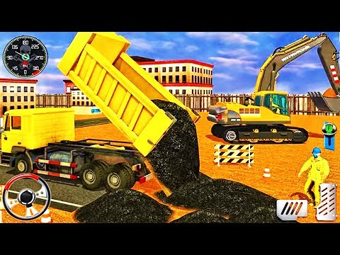 Construction Simulator 2020 - Heavy Excavator City Builder Road - Best Android GamePlay