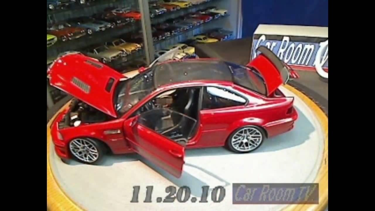 Car Room Tv Kyosho 1 18 Bmw M3 Gtr Youtube
