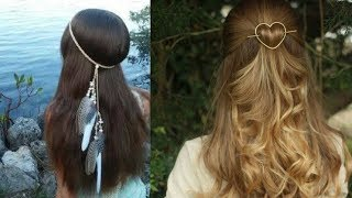 Simple Hairstyle For Girl For Everyday  👩 Part 3