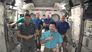 ISS Command Changes Hands