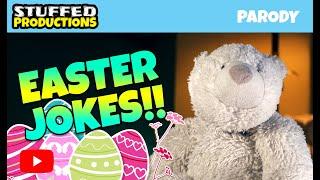 Funny Easter Jokes! Read By A Polar Bear!! - Joke Compilation Video