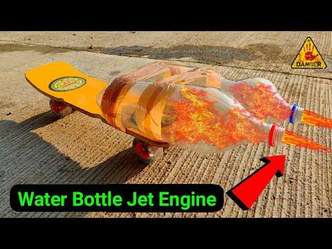 Skateboard vs Jet Engine - Iso Propyl Alcohol Experiment    Water Bottle Jet Engine Experiment   