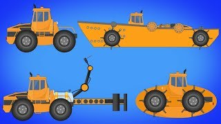 Transformer | Ship | Submarine | Welding Truck | Video For Kids