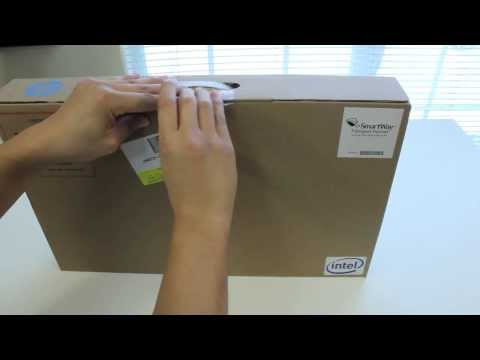 HP ENVY Sleekbook M6 K015dx TouchScreen Laptop unboxing