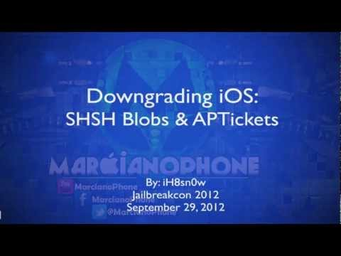 SHSH A FONDO (Downgrading iOS. APTICKET. DETALLES) Aburrido...