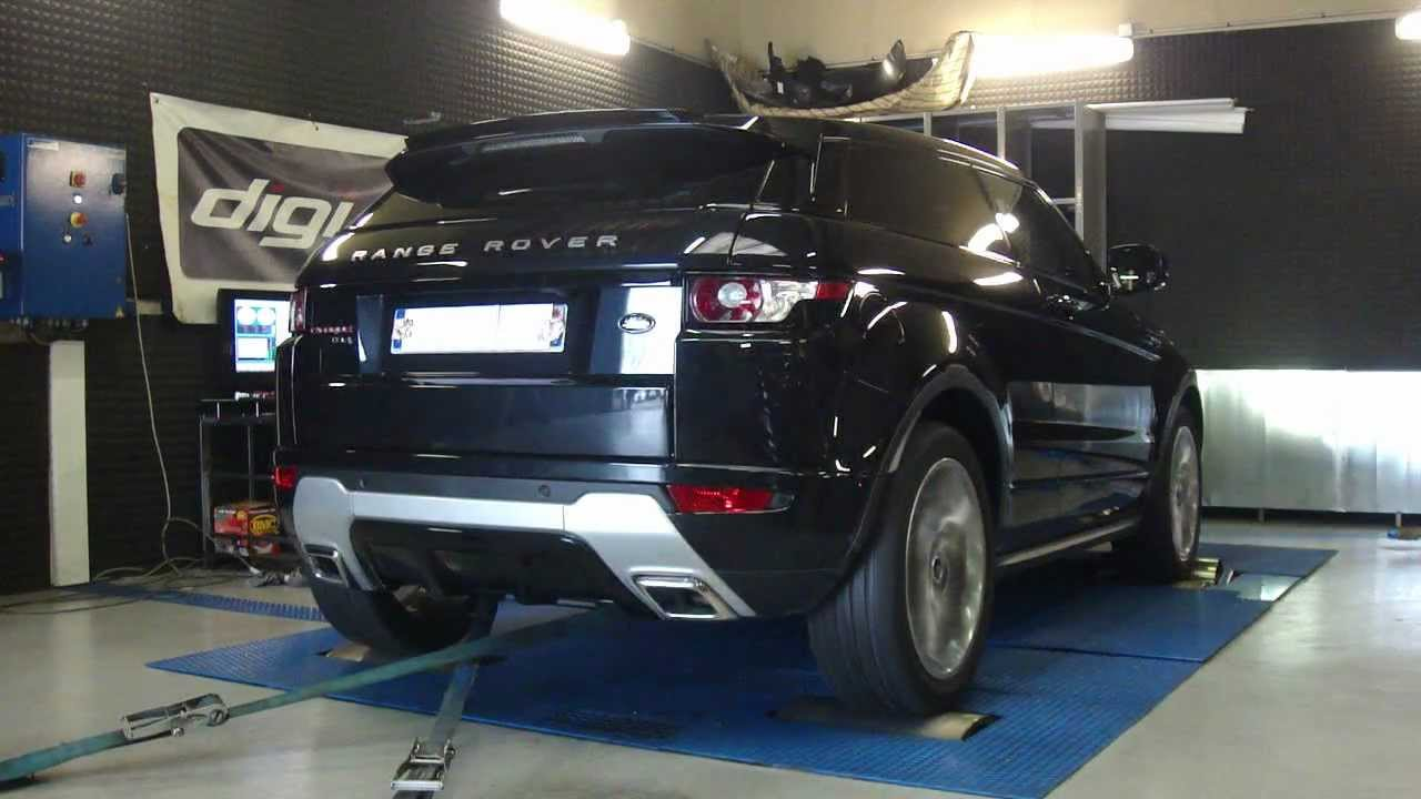 reprogrammation moteur range rover evoque td4 150cv 193cv dyno digiservices youtube. Black Bedroom Furniture Sets. Home Design Ideas