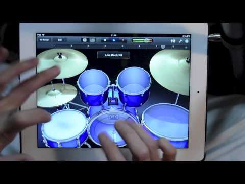 Miniatura del vídeo iPad Drum Solo