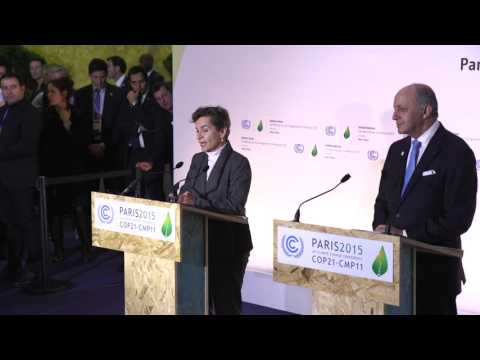 COP21: UNFCCC Executive Secretary Christiana Figueres