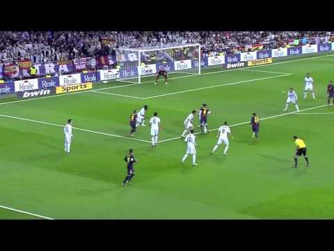 Raphael Varane vs Barcelona (Home) 12-13 HD 30.01.2013 - Copa Del Rey