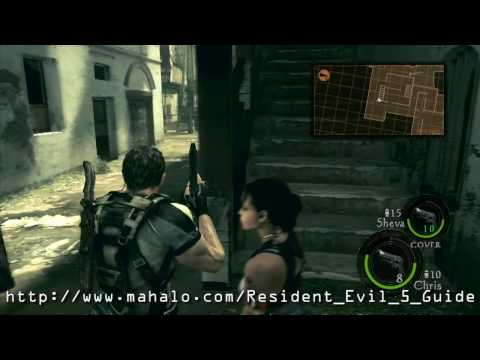 Resident Evil 5 Walkthrough - Public Assembly Part 2 HD