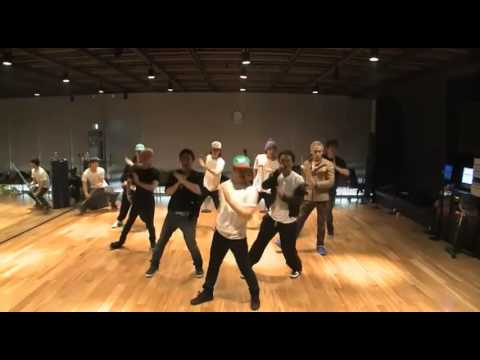 Big Bang - Tonight Mirrored Dance Practice video