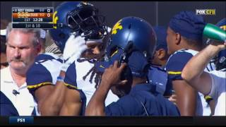 West Virginia Mountaineers at Oklahoma State Cowboys 2016