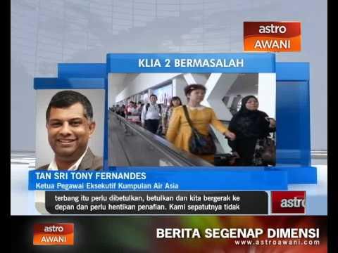 AirAsia mahu isu KLIA2 diselesaikan segera
