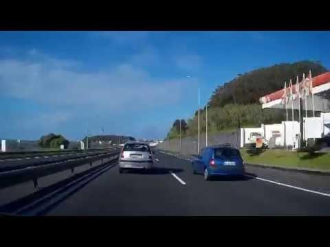 Percurso de Carro Vila Franca do Campo Ponta Delgada