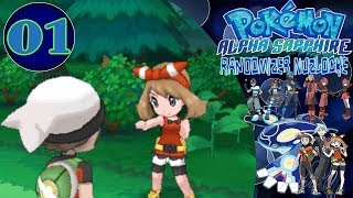 Pokemon Alpha Sapphire Randomizer Nuzlocke EP01 - A New Adventure