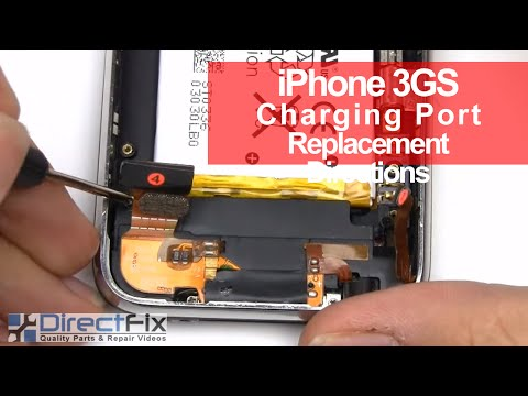 iPhone 3GS Charge Port. Mic. Speaker & Antenna Repair Directions   DirectFix