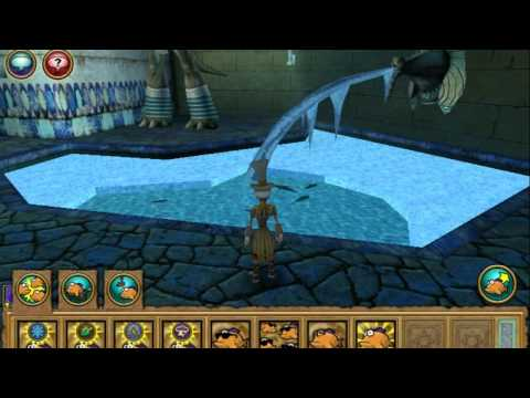 Wizard101 Fishing: Bearded Trout and Brain Sturgeon